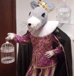 Ростовая кукла Мышиный король аренда символа 2020 года