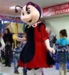 Ростовая кукла Мила из Лунтика аренда и с аниматором