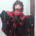 Гадалка танцовщица ростовая кукла
