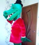Крокодил Гена ростовая кукла аренда с аниматором и без!