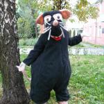 Ростовая кукла Мышь, крыса