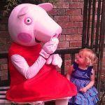 Свинка Пеппа ростовая кукла