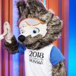 Ростовая кукла символ чемпионата по футболу Забивака прокат в Москве + аниматор